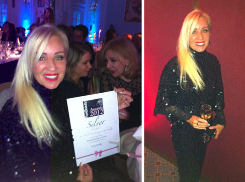Sue Marsh at the Pure Beauty Awards